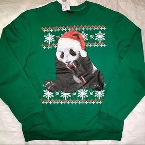 Fifth Sun Christmas Panda Sweatshirt